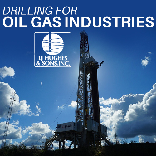 Drilling for Oil Gas
